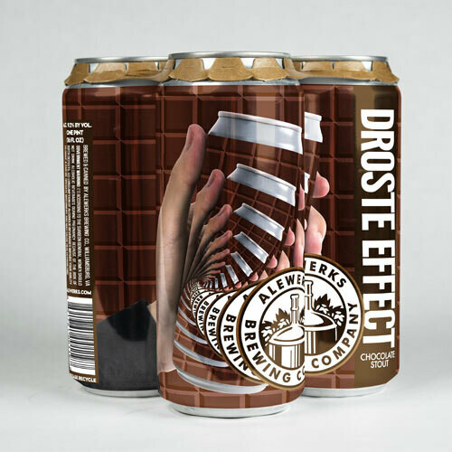 Droste Effect 4pack 16oz Cans