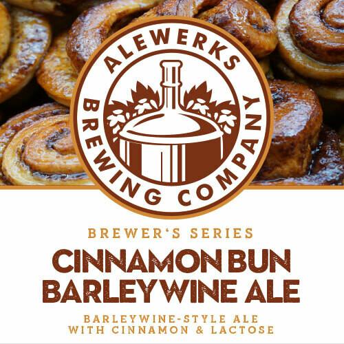Cinnamon Bun Barleywine 32oz Crowler