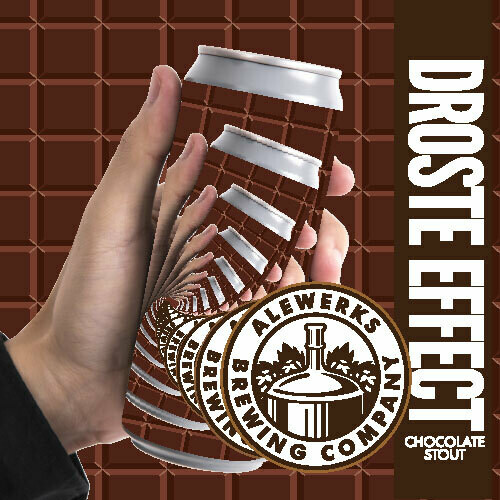 Droste Effect 32oz Crowler