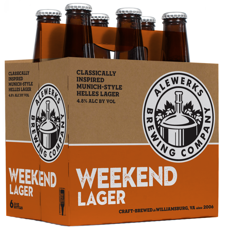 Weekend Lager 6Pack 12oz Bottles