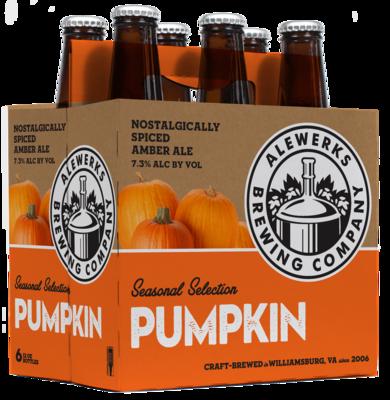 Pumpkin Ale 6Pack 12oz Bottles