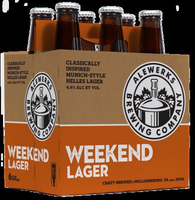 Weekend Lager Case - 24 12oz Bottles