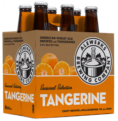 Tangerine Wheat 6Pack 12oz Bottles