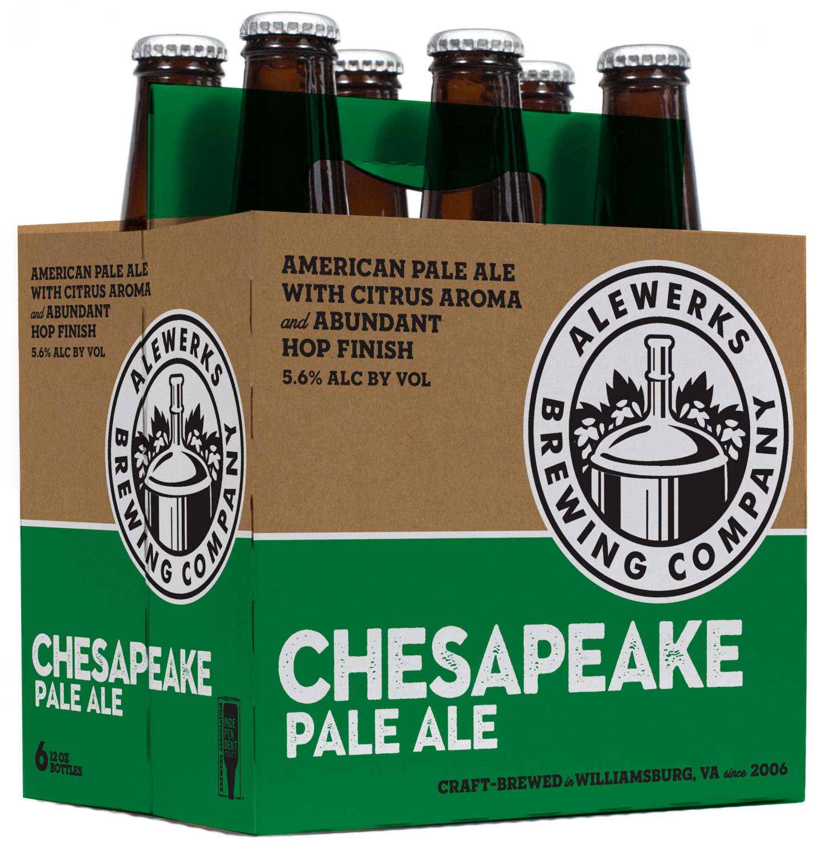 Chesapeake Pale Ale Case - 24 12oz Bottles