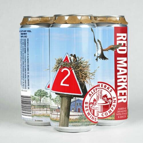 Red Marker 4pack 16oz Cans