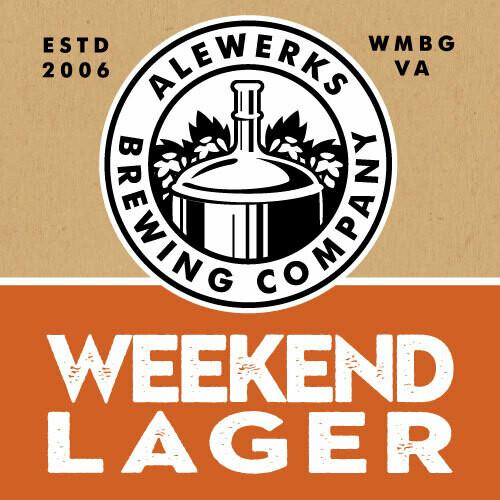 Weekend Lager 32oz Crowler
