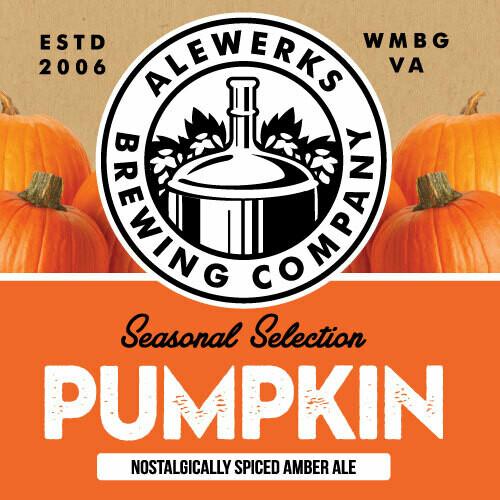 Pumpkin Ale 32oz Crowler
