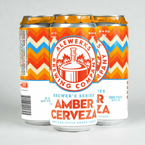 Amber Cerveza 4Pack 16oz Cans