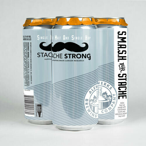SMaSH for Stache 4Pack 16oz Cans