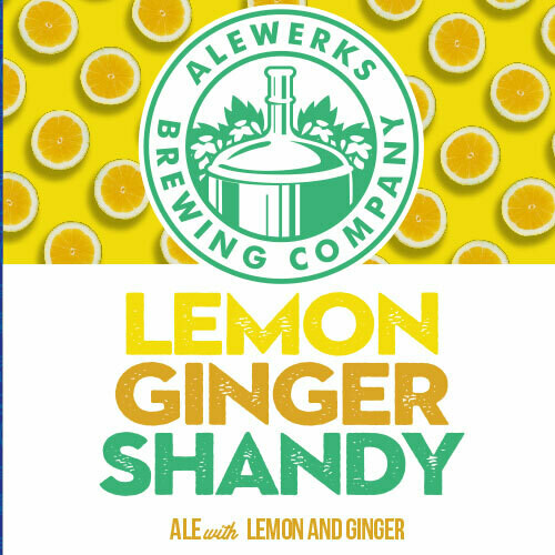 Lemon-Ginger Shandy 32oz Crowler