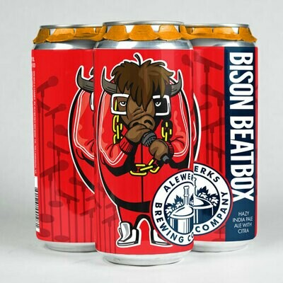 Bison Beatbox 4pack 16oz Cans