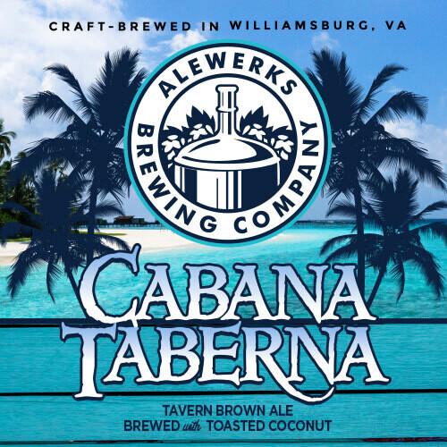 Cabana Taberna 32oz Crowler