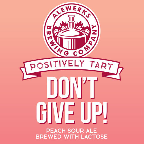 Don't Give Up! 32oz Crowler