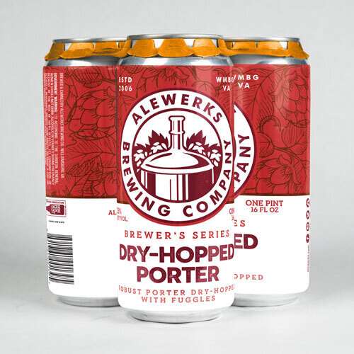 Dry Hopped Porter 4Pack 16oz Cans