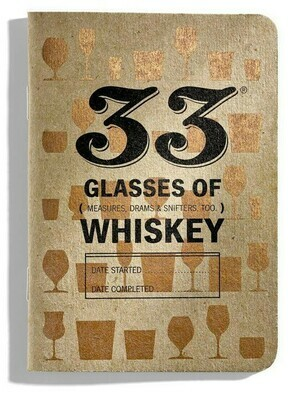 33 Books Co 33 Whiskeys 1 bk