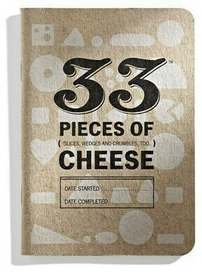 33 Books Co 33 Cheeses 1 bk
