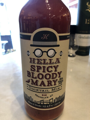 Hella Bloody Mary Spicy Cocktail Mix 750ml