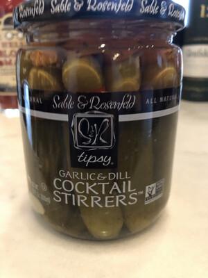 Tipsy Assorted Vegetable Olive Stirrers 16 oz