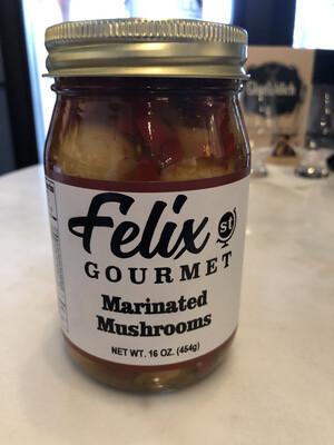 FSG Marinated Mushrooms 16 oz