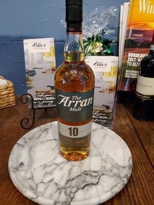 Arran 10yr Single Malt Scotch 750ml