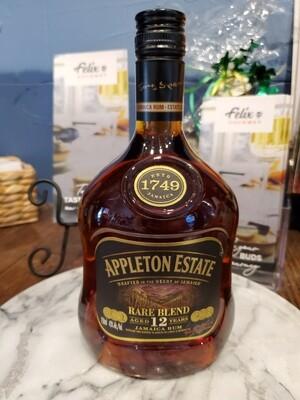 Appleton Rum Est Rare Bl 12Yr86Can