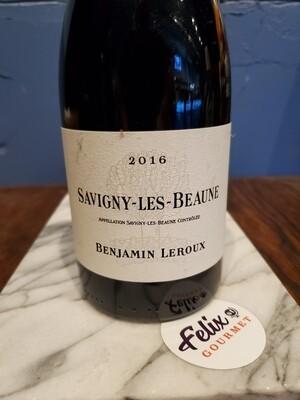Benjamin Leroux Savigny les Beaune Rouge Pinot Noir 2016