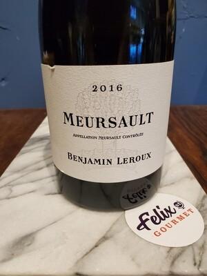 Benjamin Leroux Meursault Chardonnay 2016