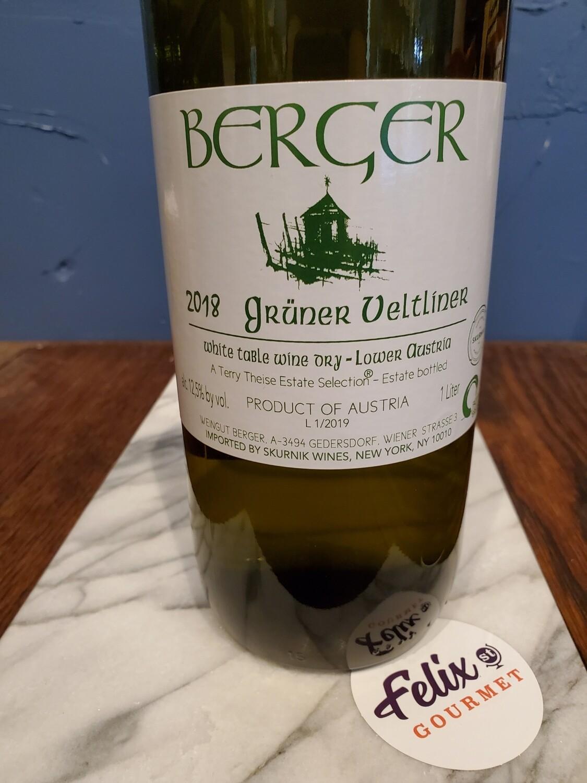 Berger Gruner Veltliner (1L) 2018