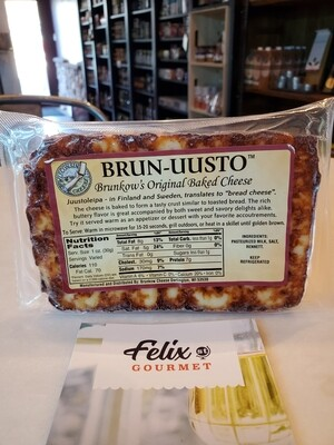 Brun-uusto Cheese Wisconsin Baked Original 8-10oz