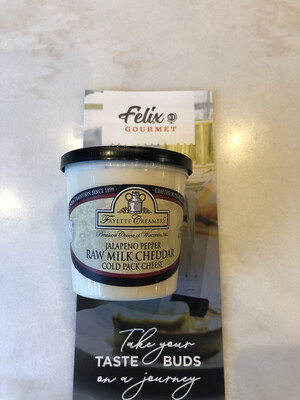 Fayette Cheese Spread Cheddar Jalapeno 8 oz