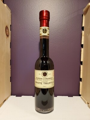 MUSSINI VINEGAR BALSAMIC WHITE TRUFFLE  8.5 OZ