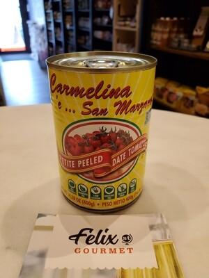 Carmelina Italian Peeled Petite Date Tomatoes 14.28 oz