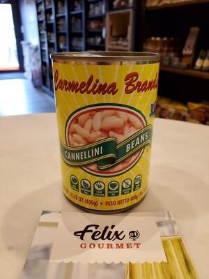 Carmelina Cannellini Organic Beans 14.28 oz