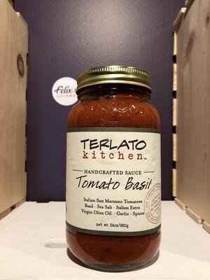 Terlato Kitchen Small Batch Tomato Basil Sauce 24 oz