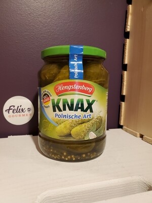 Hengstenberg Polish Style Gherkins 24 oz