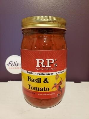 RPs Pasta Company Tomato Basil Sauce 16 oz