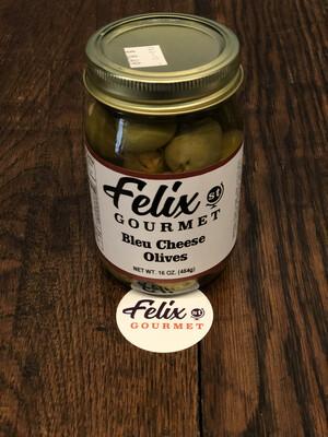 FSG Bleu Cheese Stuffed Olives 16 oz