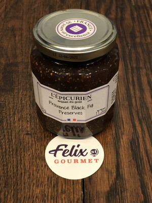 Black Fig Jam L'Epicurien 11.3 oz