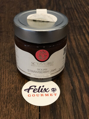 Scyavuru SICILIAN STRAWBERRY JAM 8.5 oz