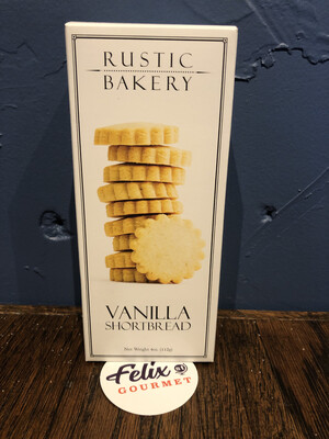 Rustic Bakery Vanilla Bean Shortbread 4 oz