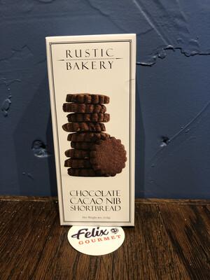 Rustic Bakery Chocolate Cacao Nib Bars 4 oz
