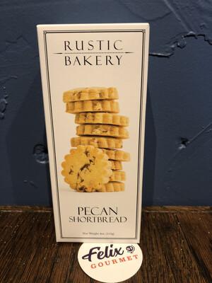 Rustic Bakery Pecan Shortbread Leaves 4 oz
