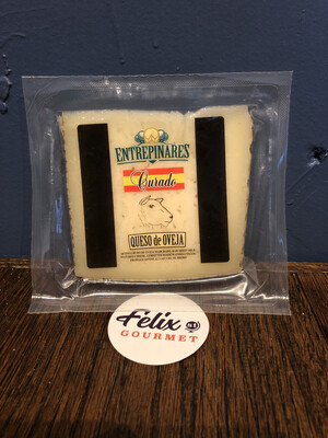 Entrepinares Spanish Sheep Cheese 12 Month Sheep's Milk Cheese 5.3 oz