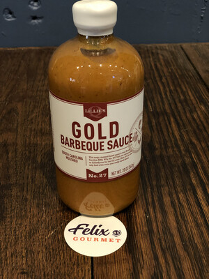 Lillies Gold BBQ Sauce