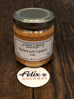 Espelette Chili Mustard L'Epicurien - 7oz
