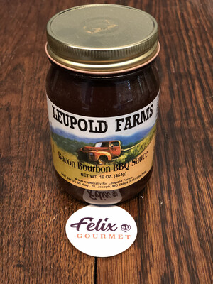 Leupold Bacon Bourbon BBQ Sauce