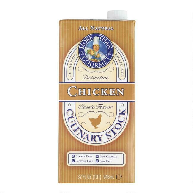 More than gourmet chicken stock