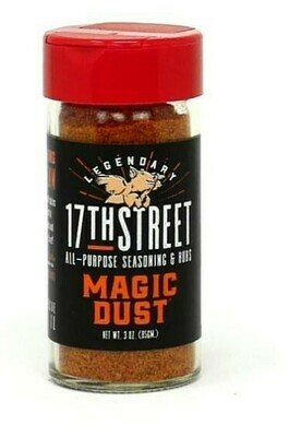 17th Street Magic Dust Rub 3 oz