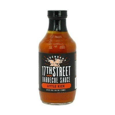 17th Street BBQ Sauce Little Kick 18 oz