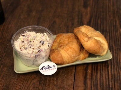 Croissants with Chicken Salad For Two - Ready to Prepare